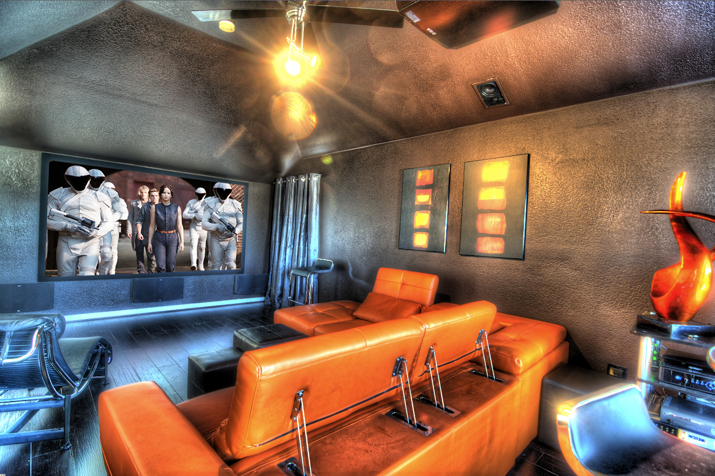 man caves home theater dallas