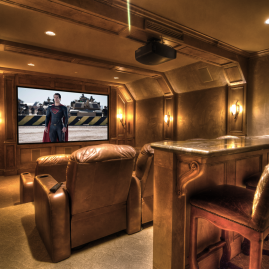 Custom Home Theater in Dallas